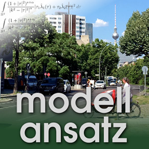Der Modellansatz: Verkehrsoptimierung, Foto: G. Thäter, Komposition: S. Ritterbusch