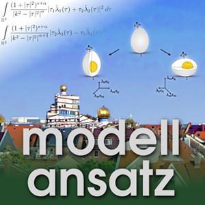 Der Modellansatz: Dämpfung viskoser Flüssigkeiten. Fotos: G. Thäter, Grafik: K. Disser, Komposition: S. Ritterbusch