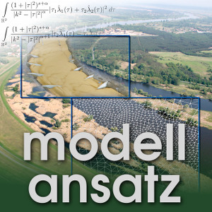 Der Modellansatz: Wasserstraßen. Rebekka Kopmann - BAW