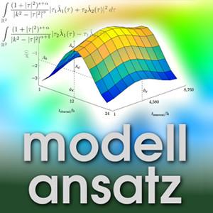 Der Modellansatz: Advanced Mathematics. Plot: B. Pousinho, Composition: S. Ritterbusch