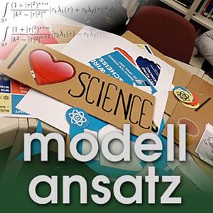 Der Modellansatz: Wissenschaftskommunikation. Foto: Lorenz Adlung, Komposition: Sebastian Ritterbusch