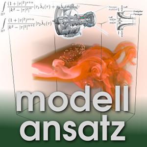 Der Modellansatz: Zerstäubung. Grafiken und Simulationen: C. Schwitzke, Komposition: S. Ritterbusch