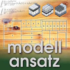Der Modellansatz: Zuschnittsoptimierung. Grafiken: G.Scheithauer, Foto und Komposition: S. Ritterbusch
