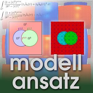 Der Modellansatz: Zweiphasenstroemungen. Visualisierung: S.Claus, Komposition: S. Ritterbusch