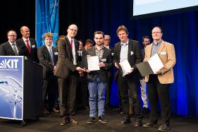 Verleihung des Lehrpreises durch Prof. Wanner