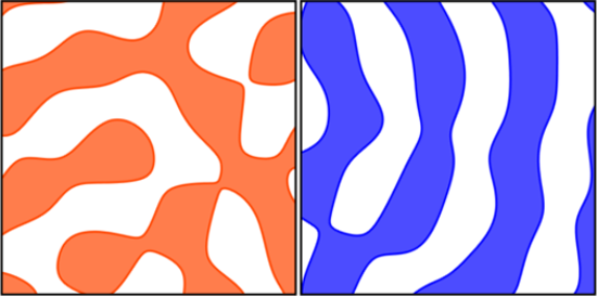 Excursion sets of Gaussian random fields